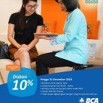 Diskon 10% dan bisa Cicilan 0% untuk 3 bulan dengan Kartu Kredit BCA untuk Biaya Tindakan/Operasi LASIK di SILC LASIK