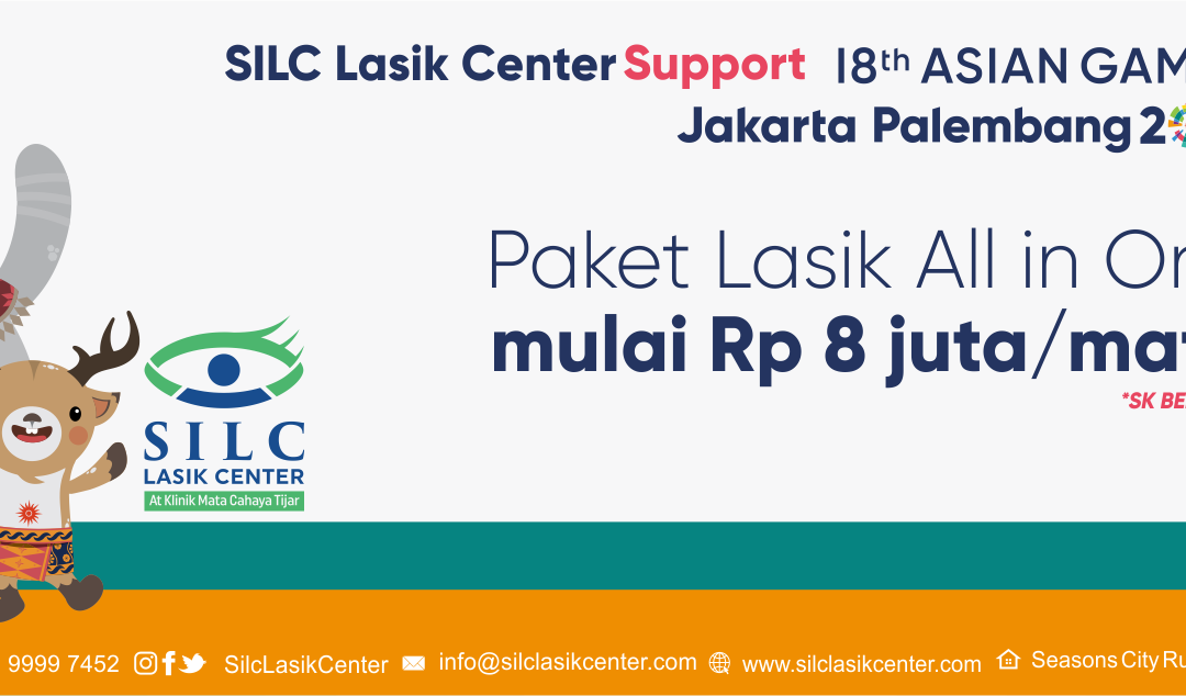 ASIAN GAMES – LASIK PROMO