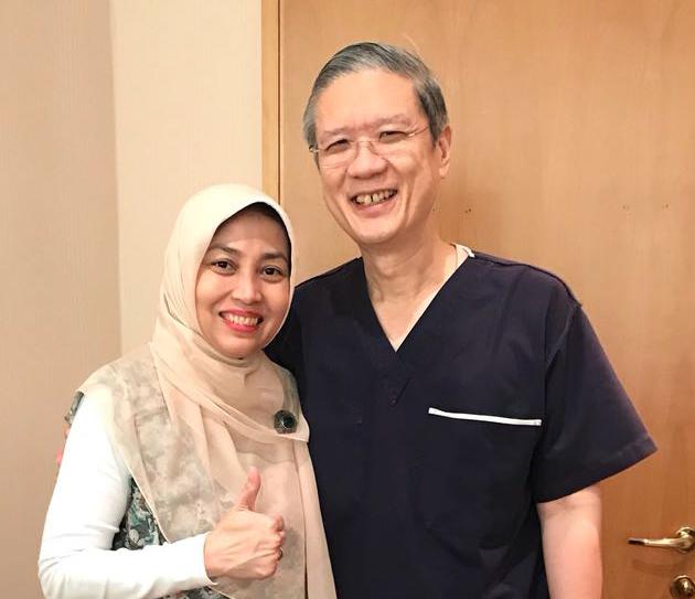 Kunjungan Dokter – Dokter SILC LASIK ke Dr. Jerry Tan Singapore