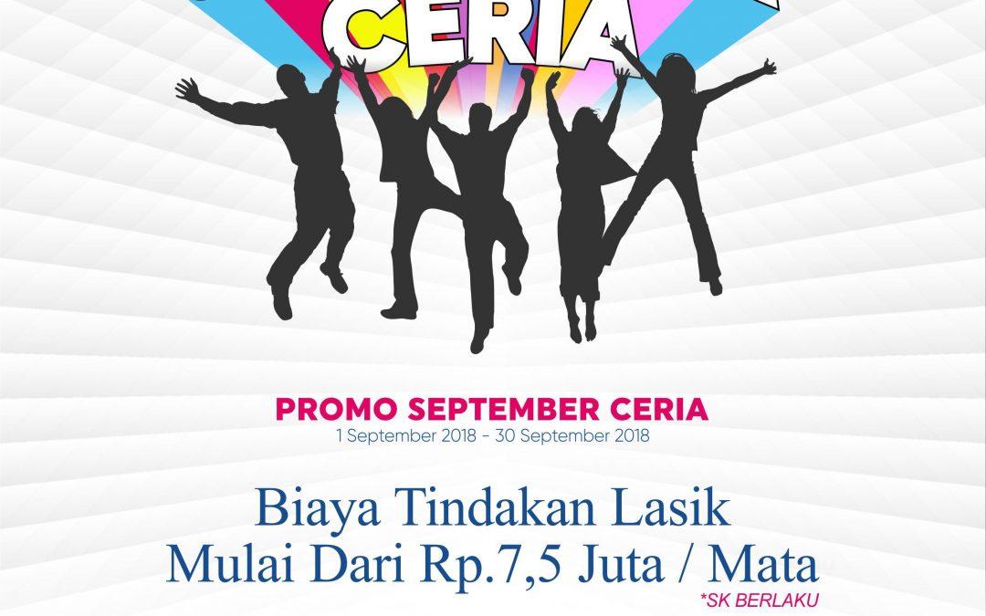 September Ceria LASIK Promo