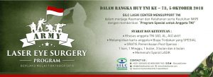 ARMY LASER EYE SURGERY LASIK PROMO