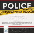 POLICE LASER EYE SURGERY PROGRAM