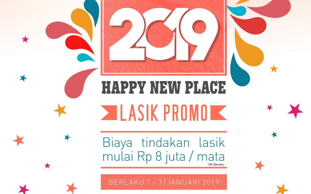 Happy New Year & New Place Lasik Promo