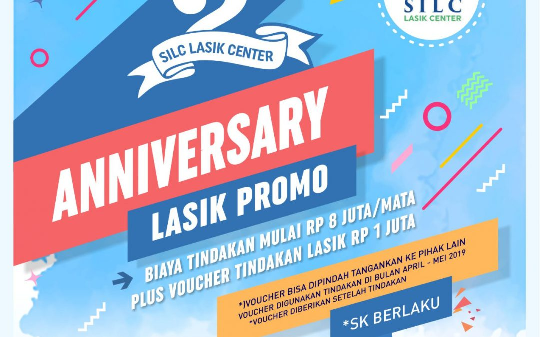 Promo LASIK- 2nd Anniversary SILC LASIK CENTER