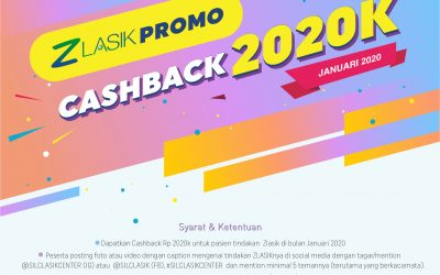 ZLASIK PROMO – CASH BACK 2020K