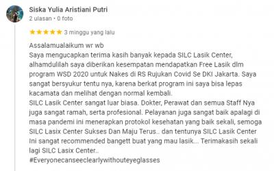 Berkat Program WSD – SILC Lasik Center, Lepas Kacamata dan Normal Kembali