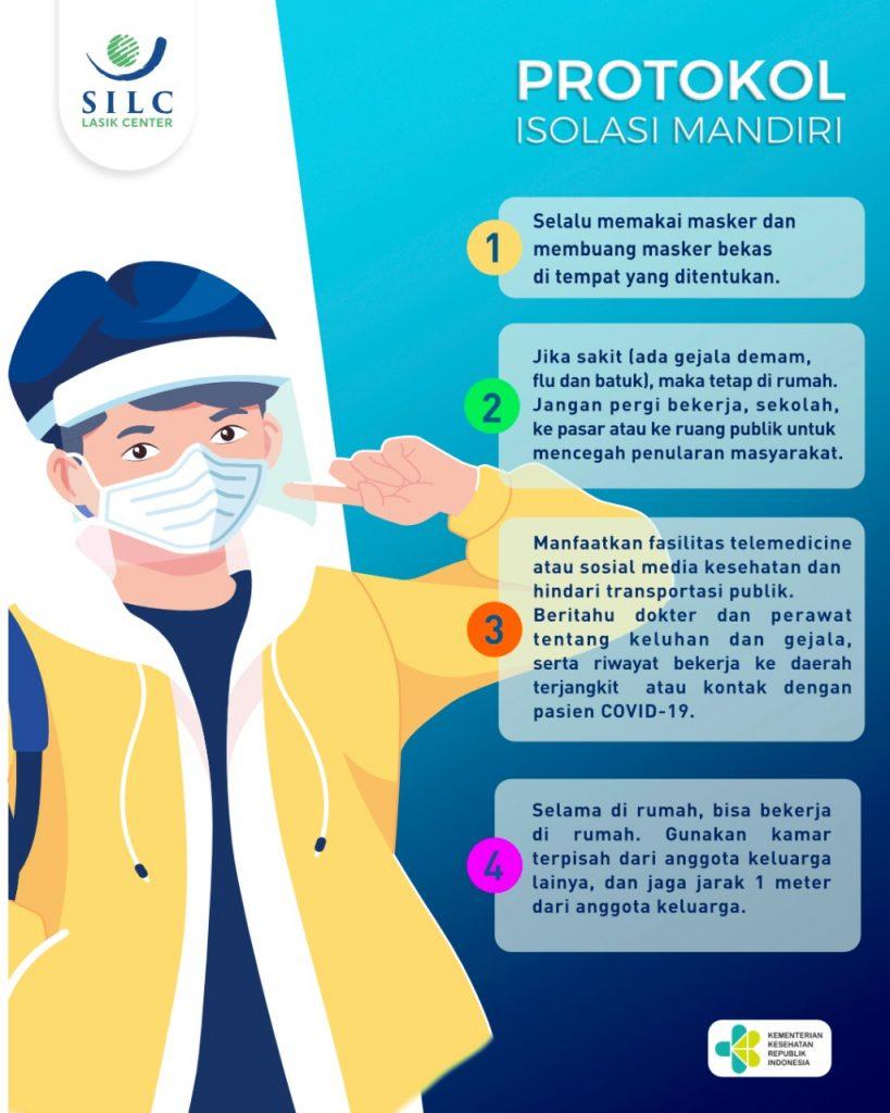 Protokol Isolasi Mandiri Covid-19 - SILC LASIK CENTER