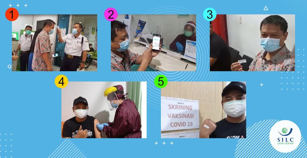 Vaksinasi Covid-19 – Karyawan SILC LASIK CENTER