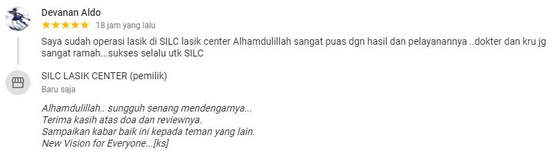 Devanan Aldo : Alhamdulillah sangat puas dgn hasil dan pelayanannya